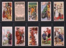 Tobacco Cigarette cards Proverbs artistic set of 25